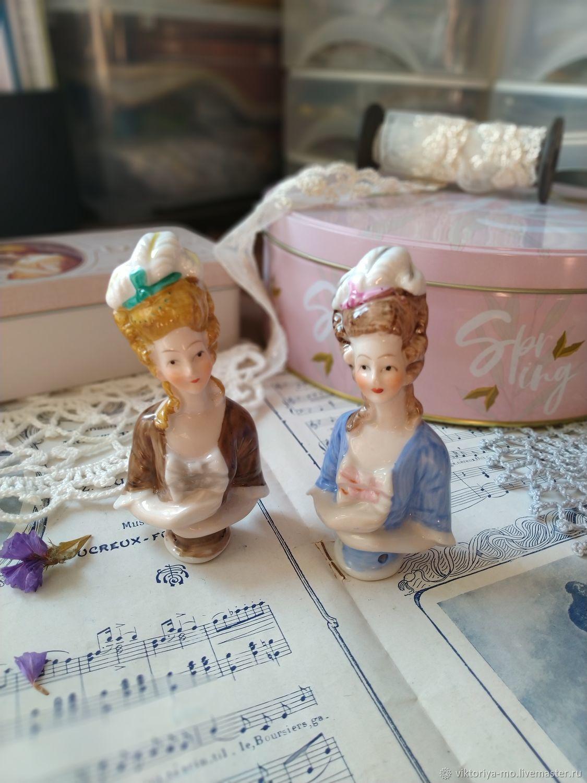Винтаж: Куклы-игольницы Half doll винтаж  Германия ручная работа, Куклы винтажные, Подольск,  Фото №1