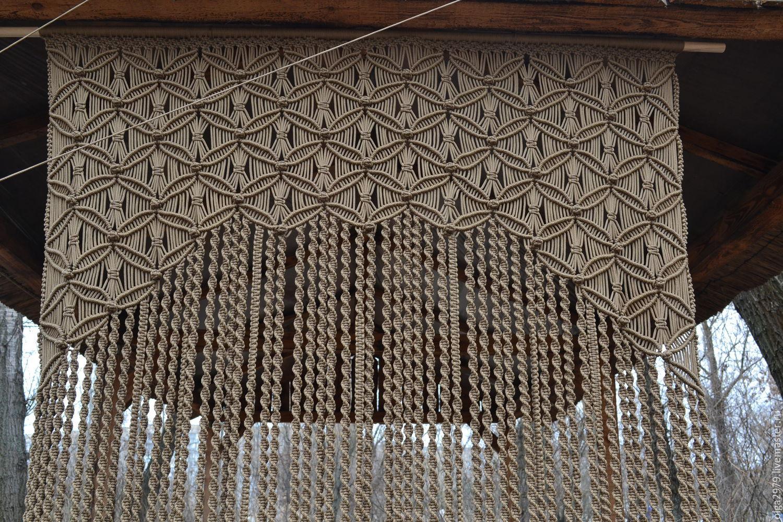 Макраме  шторы