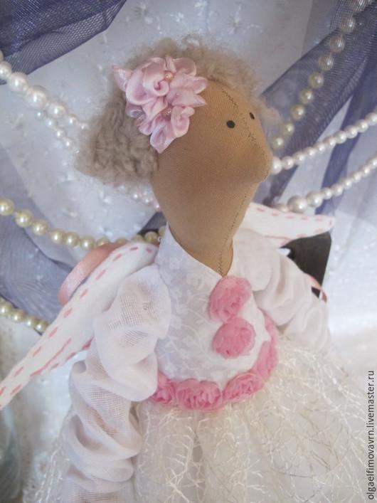 Куклы Тильды ручной работы. Ярмарка Мастеров - ручная работа. Купить Ангел Тильда. Handmade. Белый, ангел-хранитель, холофайбер