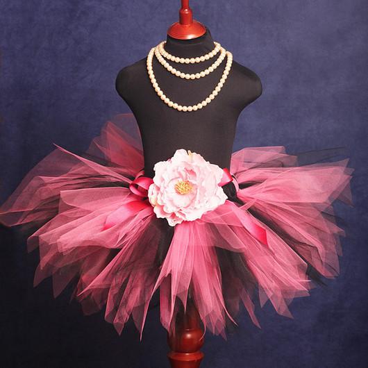 """Одежда для девочек, ручной работы. Ярмарка Мастеров - ручная работа. Купить """"Фея Тайна""""  пышная юбка-пачка из фатина. Handmade."""