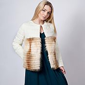 Одежда handmade. Livemaster - original item Jacket with fur