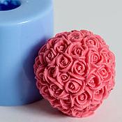 Формы ручной работы. Ярмарка Мастеров - ручная работа Силиконовая форма для мыла «Шар из роз». Handmade.