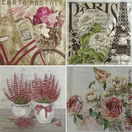 «Carte postale» 180 «Paris» 203 «Лаванда розовая в горшочке» 204 «Розы» 4 190