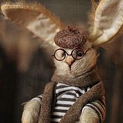 Куклы и игрушки handmade. Livemaster - original item Bunny from St. Petersburg. Handmade.