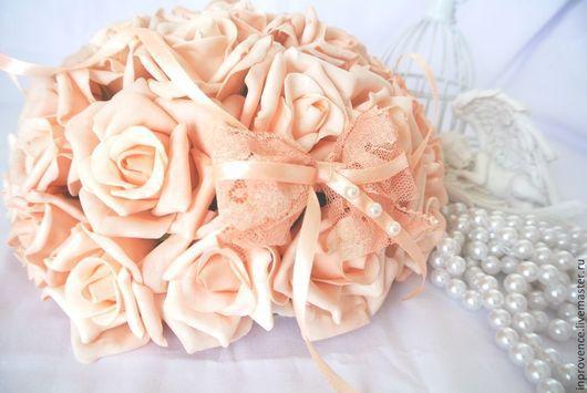 Интерьерная композиция из латекса Шар из роз в стиле Шебби Шик, винтаж. Композиция из роз. Цветочная композиция. Букет невесты. Украшение свадебного стола.Винтажный стиль