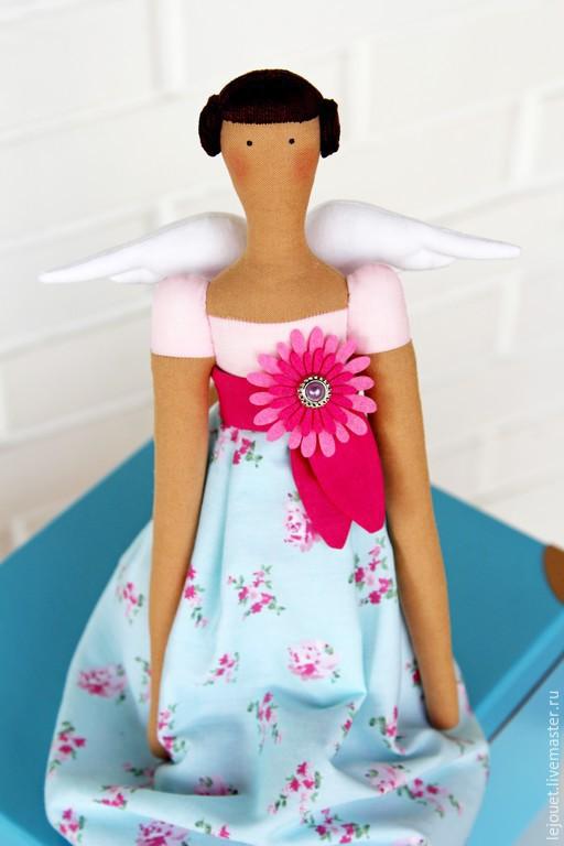Куклы Тильды ручной работы. Ярмарка Мастеров - ручная работа. Купить Кукла Тильда Цветочный ангел. Handmade.