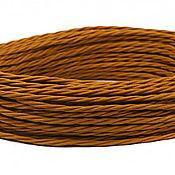 Дизайн ручной работы. Ярмарка Мастеров - ручная работа Провод витой для наружной проводки 2х0,75 медный. Handmade.