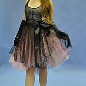 """Одежда ручной работы. Ярмарка Мастеров - ручная работа Юбка из фатина в горошек """" Lolita"""". Handmade."""