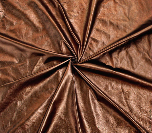 """Шитье ручной работы. Ярмарка Мастеров - ручная работа. Купить Натуральная кожа """"Бронзовый металлик""""!. Handmade. Кожа, натуральная кожа"""