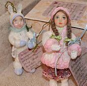 Куклы и игрушки ручной работы. Ярмарка Мастеров - ручная работа Ёлочные игрушки. Handmade.