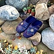 Обувь ручной работы. Ярмарка Мастеров - ручная работа. Купить тапочки МОРЯЧЕК. Handmade. Тёмно-синий, тапочки домашние