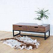 Столы ручной работы. Ярмарка Мастеров - ручная работа Тумба под ТВ из массива карагача Kona. Handmade.