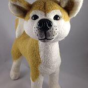 Куклы и игрушки handmade. Livemaster - original item Puppy Akita Inu. Handmade.