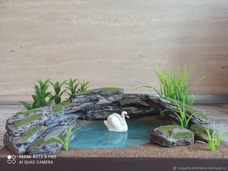 Миниатюра с озером для кукол, Мини фигурки и статуэтки, Санкт-Петербург,  Фото №1