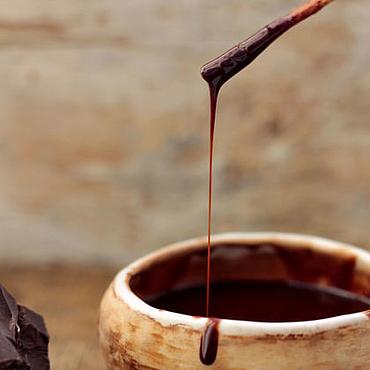 Косметика ручной работы. Ярмарка Мастеров - ручная работа Горячий шоколад для рук. Handmade.