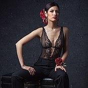 Цветы из шелка. Комплект - Carmen Silva - цветочные аксессуары