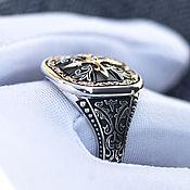 Украшения handmade. Livemaster - original item Signet ring:Personal ring for men. Handmade.