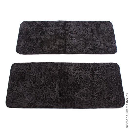 Текстиль, ковры ручной работы. Ярмарка Мастеров - ручная работа. Купить Теплые коврики для спальни (код: 703. Handmade. Черный