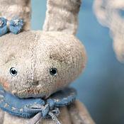 Куклы и игрушки ручной работы. Ярмарка Мастеров - ручная работа Зайка Сонечка. Тедди Зайка. Handmade.