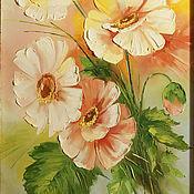 Картины и панно ручной работы. Ярмарка Мастеров - ручная работа цветы лета. Handmade.