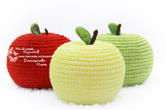 Антистрессовые `молодильные` яблочки.