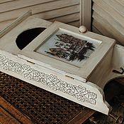 """Для дома и интерьера ручной работы. Ярмарка Мастеров - ручная работа Ключница """"Ключи от города"""". Handmade."""