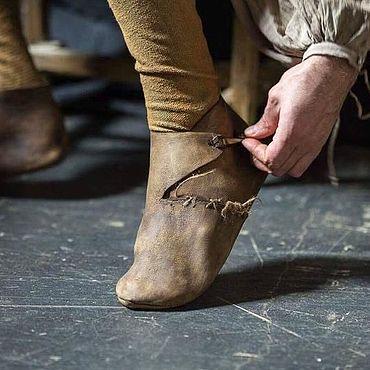 Обувь ручной работы. Ярмарка Мастеров - ручная работа Ботинки кожаные. Handmade.