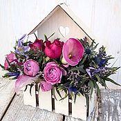 Материалы для творчества handmade. Livemaster - original item Wooden flower boxes