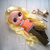 Куклы и игрушки handmade. Livemaster - original item Doll hinged TBL with a wardrobe of 10 items and a pet. Handmade.