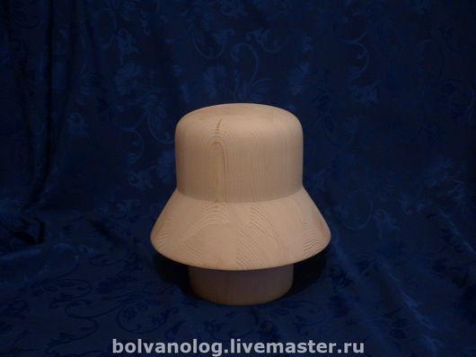 Манекены ручной работы. Ярмарка Мастеров - ручная работа. Купить Болванка-шляпка - 26. Handmade. Болванка, колодка, желтый, сосна