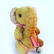 Куклы и игрушки ручной работы. Ярмарка Мастеров - ручная работа Слон Бони. Handmade.