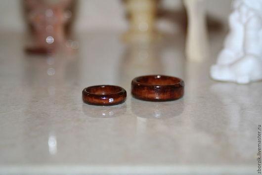 деревянные кольца из березы
