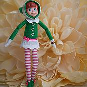 Мягкие игрушки ручной работы. Ярмарка Мастеров - ручная работа Гном шпион (Остроушка) - Кукла ручной работы без комплекта. Handmade.