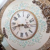 Для дома и интерьера ручной работы. Ярмарка Мастеров - ручная работа Часы настенные Благородная классика по мотивам. Handmade.