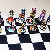 Подарки к праздникам ручной работы. Ярмарка Мастеров - ручная работа шахматы. Handmade.