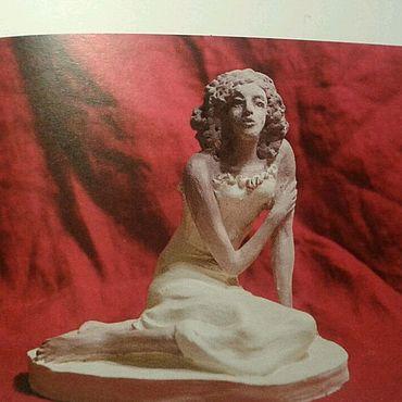 Для дома и интерьера ручной работы. Ярмарка Мастеров - ручная работа Фарфор скульптура. Handmade.