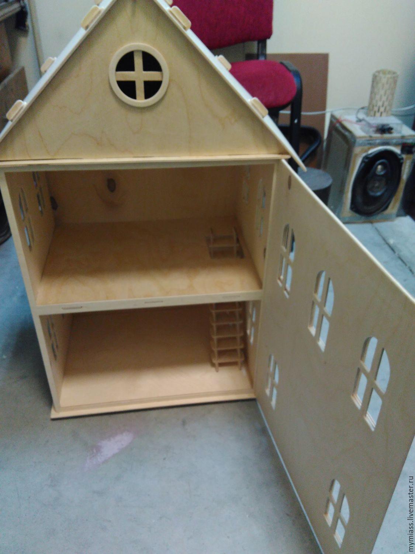 Кукольный домик из фанеры своими руками чертежи и фото пошаговая инструкция