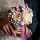 """Свадебные цветы ручной работы. Ярмарка Мастеров - ручная работа. Купить Свадебный букет """"Нежность прованса"""". Handmade. Свадьба"""