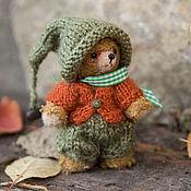 Куклы и игрушки ручной работы. Ярмарка Мастеров - ручная работа Мишка тедди Добрый гномик.. Handmade.