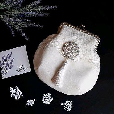 """Сумки и аксессуары ручной работы. Ярмарка Мастеров - ручная работа """"Сумочка невесты""""- нарядная свадебная сумочка. Handmade."""