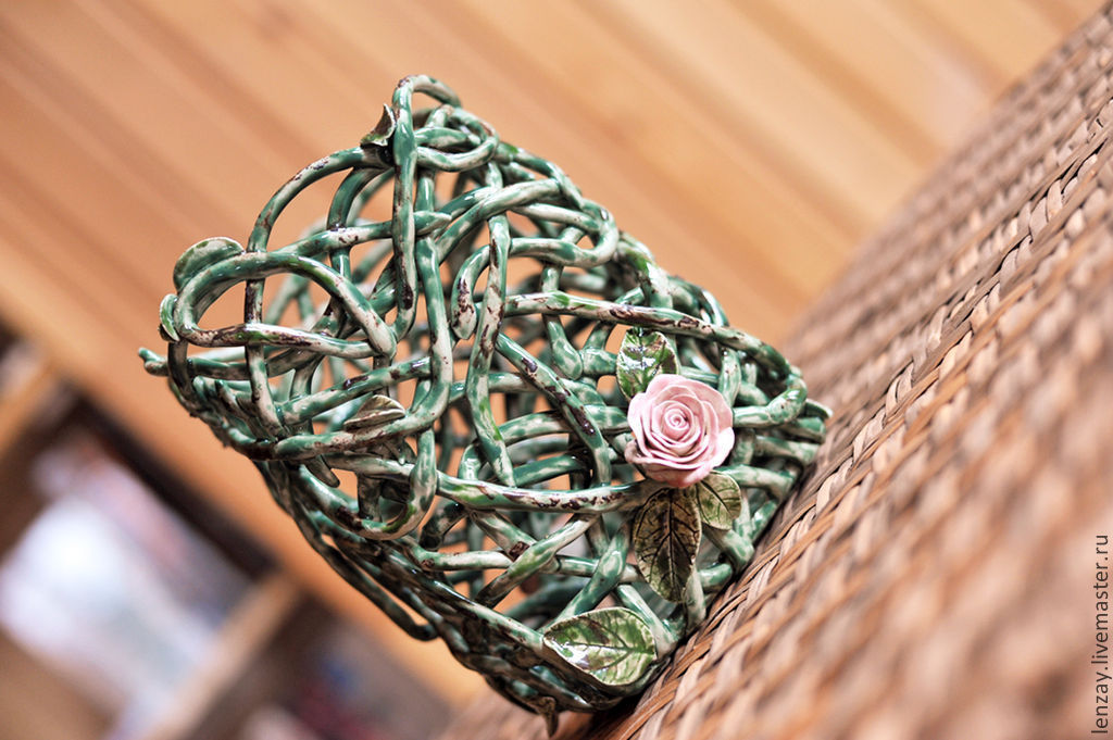 Ваза Плетистая роза