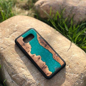 Сумки и аксессуары ручной работы. Ярмарка Мастеров - ручная работа Чехол река на Samsung S8+. Handmade.