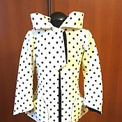 Одежда ручной работы. Ярмарка Мастеров - ручная работа Жакет из шерстяного горошка. Handmade.