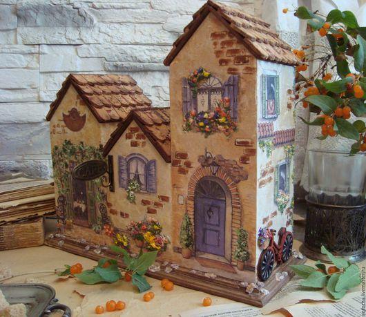 """Кухня ручной работы. Ярмарка Мастеров - ручная работа. Купить """"Улочки Прованса"""" -Чайный домик. Handmade. Чайный домик, подарок"""