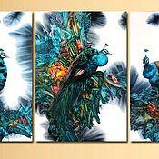 Картины и панно ручной работы. Ярмарка Мастеров - ручная работа Красивые птицы в вашем доме. Handmade.