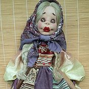 Для дома и интерьера ручной работы. Ярмарка Мастеров - ручная работа Кукла пакетница Марусенька. Handmade.