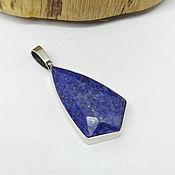 Украшения handmade. Livemaster - original item Setti Lapis Lazuli Pendant. Handmade.