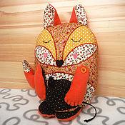 Куклы и игрушки ручной работы. Ярмарка Мастеров - ручная работа Игрушка-подушка Лисичка ароматизированная. Handmade.