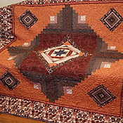 Для дома и интерьера ручной работы. Ярмарка Мастеров - ручная работа Покрывало-ковер. Handmade.