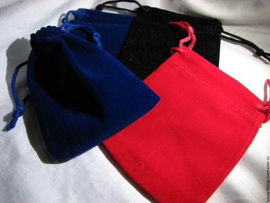 Упаковка ручной работы. Ярмарка Мастеров - ручная работа. Купить Бархатный мешочек  9х12 мм, мешочки бархатные. Handmade. Бархатный